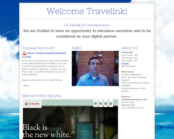 Welcome Travelink