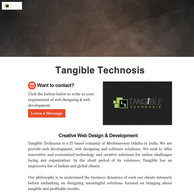 Tangible Technosis