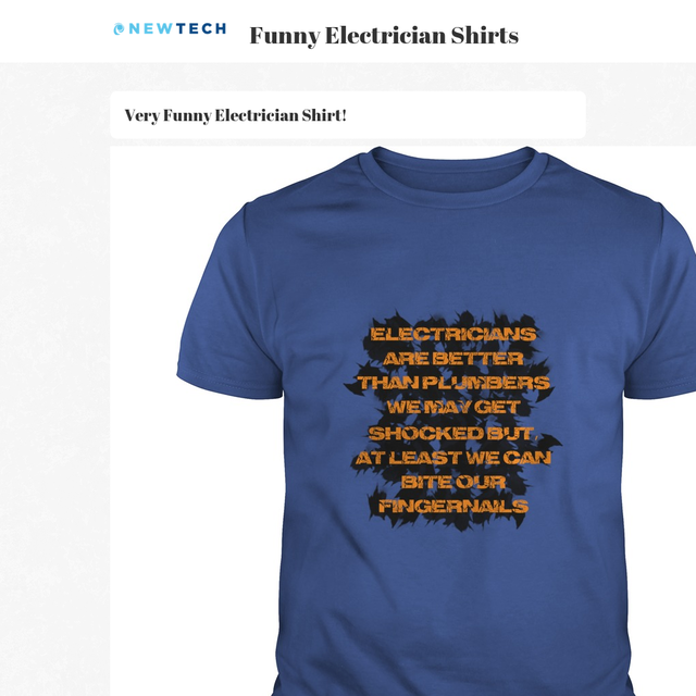 Funny Electrician Shirts