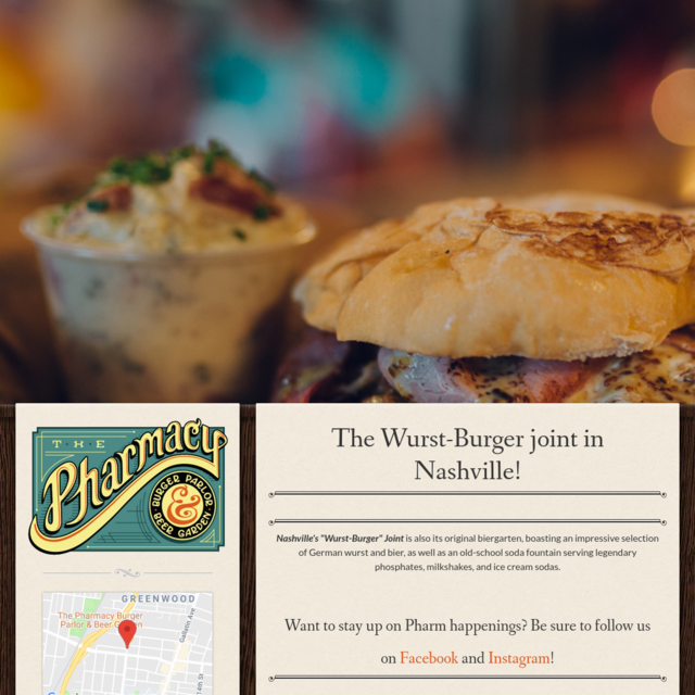 The Pharmacy Burger Parlor And Beer Garden
